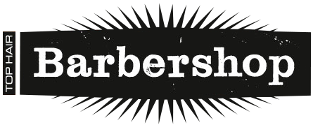 Top Hair Barbershop Logo